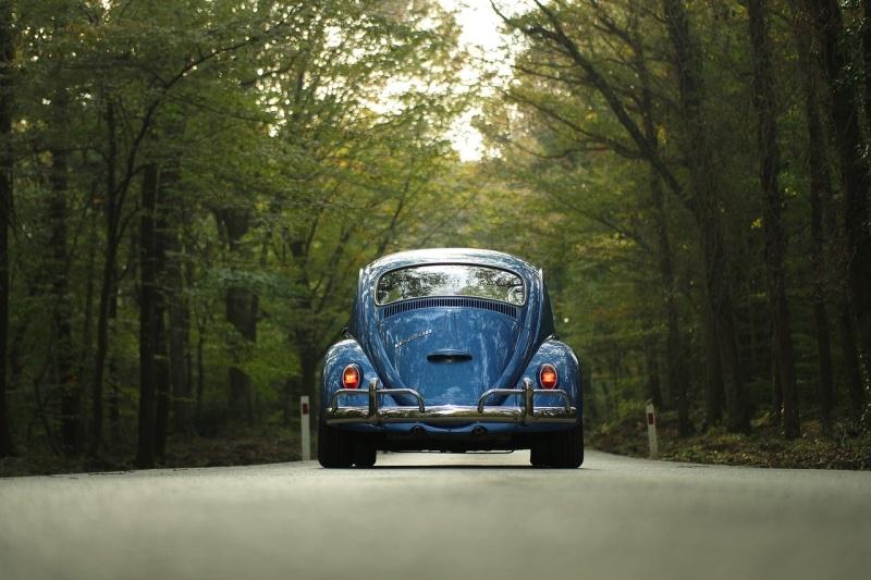 Alter Käfer als Oldtimer