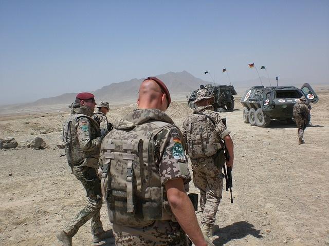 Bundeswehrsoldaten im Einsatz