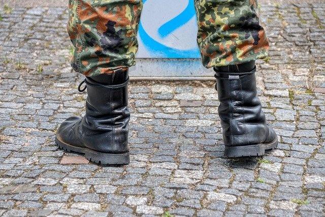 Bundeswehr Beine