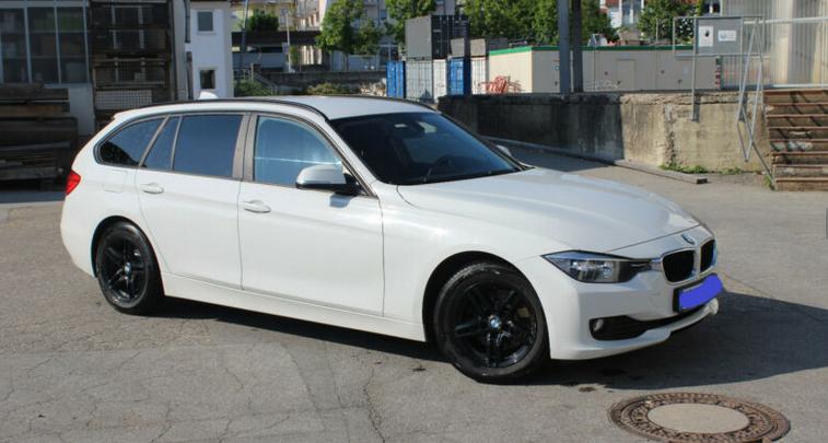 3er F30 BMW in weiß