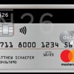 Maestrocard der N26 Bank