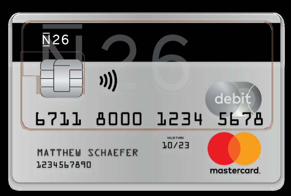 N26 Kredit per App